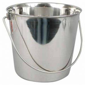 secchio inox 20 litri